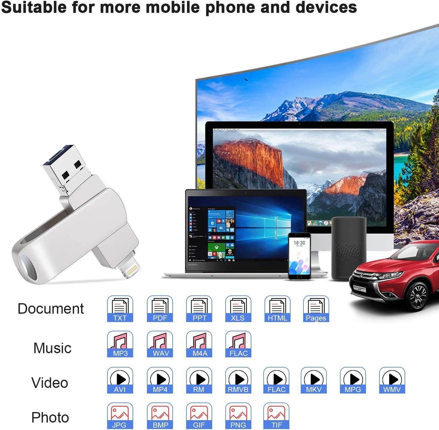 Professional Kingston 64GB for Samsung ATIV Q MicroSDXC Card Custom Verified by SanFlash. 80MBs Works with Kingston