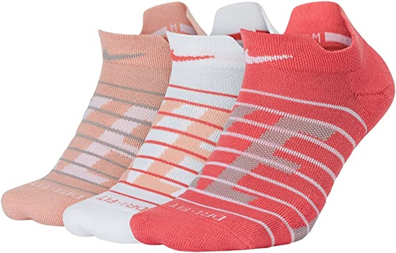 Amazon.com: Nike Women`s Dry Cushion Low Training Socks (3 ...