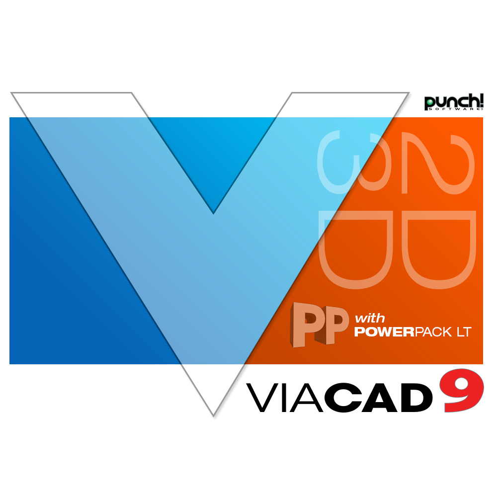 ViaCAD 2D/3D v9 + PowerPack LT - A seamless marriage of 2D & 3D design plus 3D printing tools to help you take your sketched ideas to 3D realism! (for Mac) [Download] by Encore