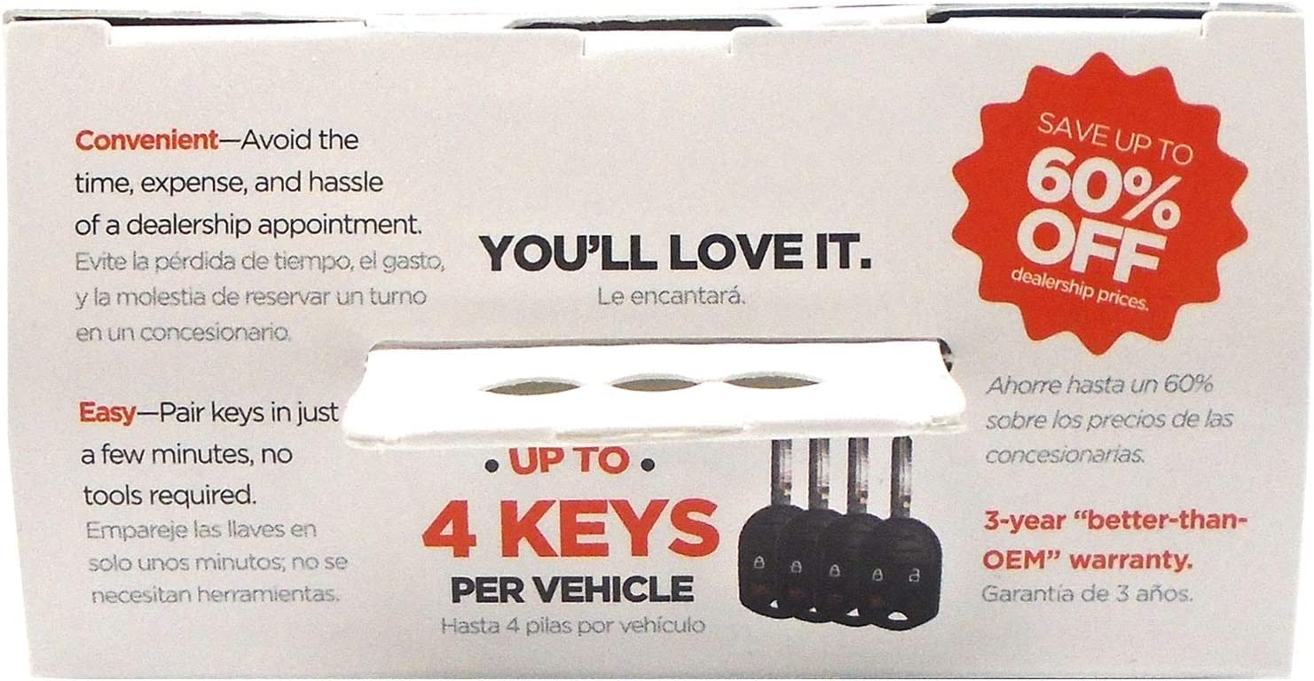 Car Keys Express Simple Key 3 Button Remote for Ford
