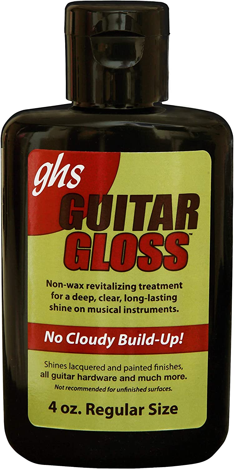 GHS Guitar Gloss polish - GHS: Abrillantador guitarra A 92: Amazon ...