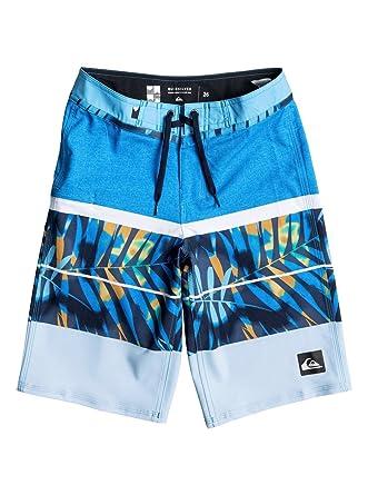 0cabd952438 Amazon.com  Quiksilver Boys Slab Print Vee 19 Boardshort  Clothing