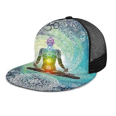 Yoga Gorra de béisbol Mandala meditación Zen Hippie Chakra ...