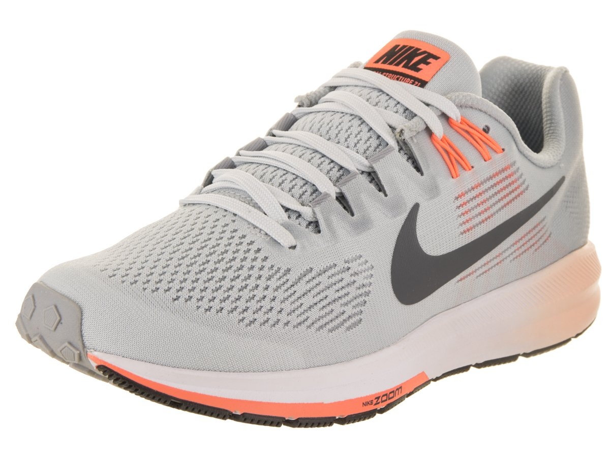 NIKE Women's Air Zoom Structure 21 Running Shoe B07BVK6J8L 6 B(M) US|Wolf Grey/Dark Grey