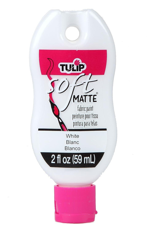 Tulip Soft Fabric Paint, 2-Ounce, Matte White iLoveToCreate 30990