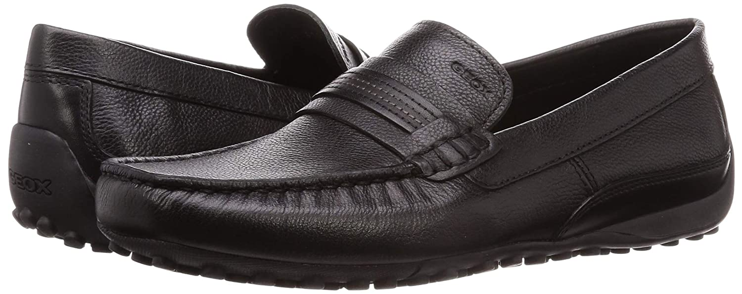 Geox U Snake Moc C Mens Leather Shoes//Moccasins