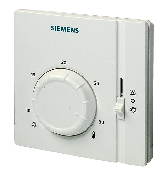 Siemens RAA41 - Termostato, color blanco: Amazon.es: Bricolaje y herramientas