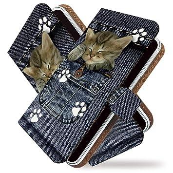498d2d2070 Amazon | ねこ 手帳型ケース カバー iPhone SE 手帳型 手帳 ケース 猫 猫 ...
