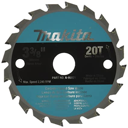 Makita a 95021 3 38 inch tct saw blade for wood circular saw makita a 95021 3 38 inch tct saw blade for wood greentooth Images