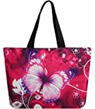 AUPET Beach Tote Bags Travel Totes Bag Toy Tote Shopping Tote Shoulder Hand Bag For Gym Beach