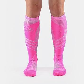 dfe9bfd813 EC3D Women's Compression Twist Socks (Pink) Size: 2: Amazon.ca ...