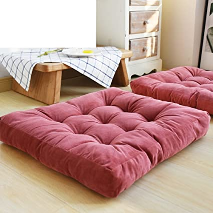 Amazon.com: NVLKJHSFGIUJFKL Push Thicken Cushion,Tatami living room ...