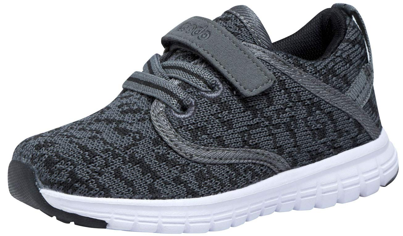 COODO CD3001 Toddler Lightweight Sneakers Boys Casual Running Shoes DK.Grey-7