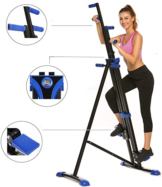 Hurbo Escaladora vertical para casa, gimnasio, ejercicio, escalada ...