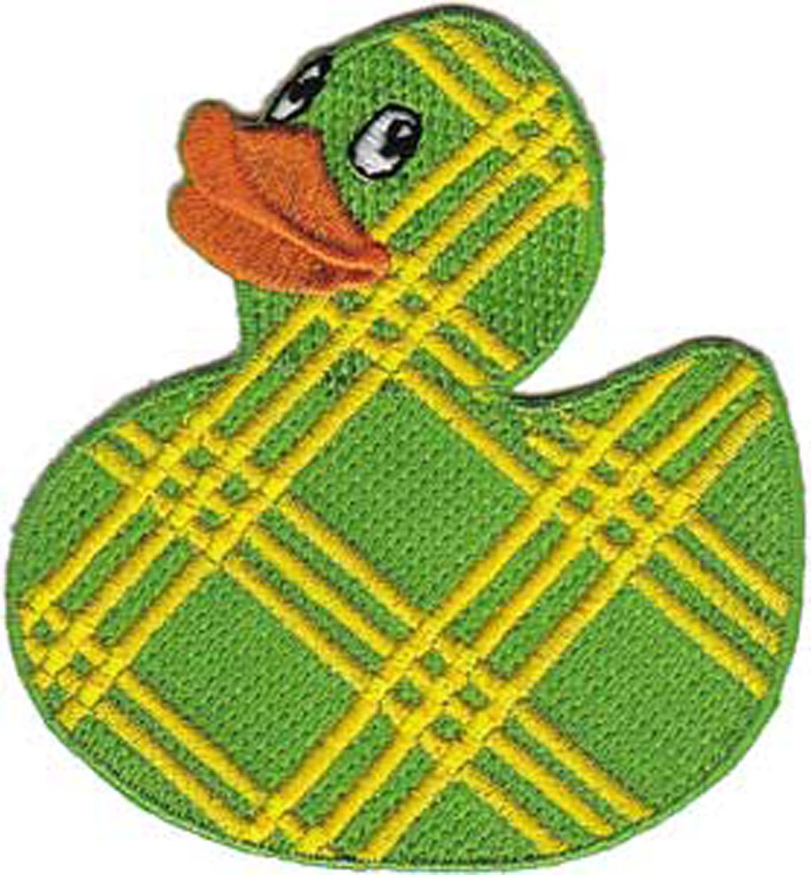 Patch Animals Plaid Rubber Ducky p-3731   B00D40O8DI