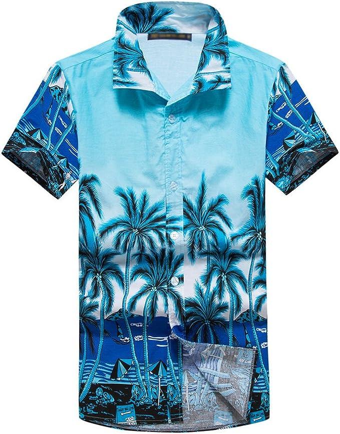 Yiwa Traje de baño, La playa floja de la verano-verano del niño viste la camisa hawaiana casual del estilo de la moda: Amazon.es: Ropa y accesorios
