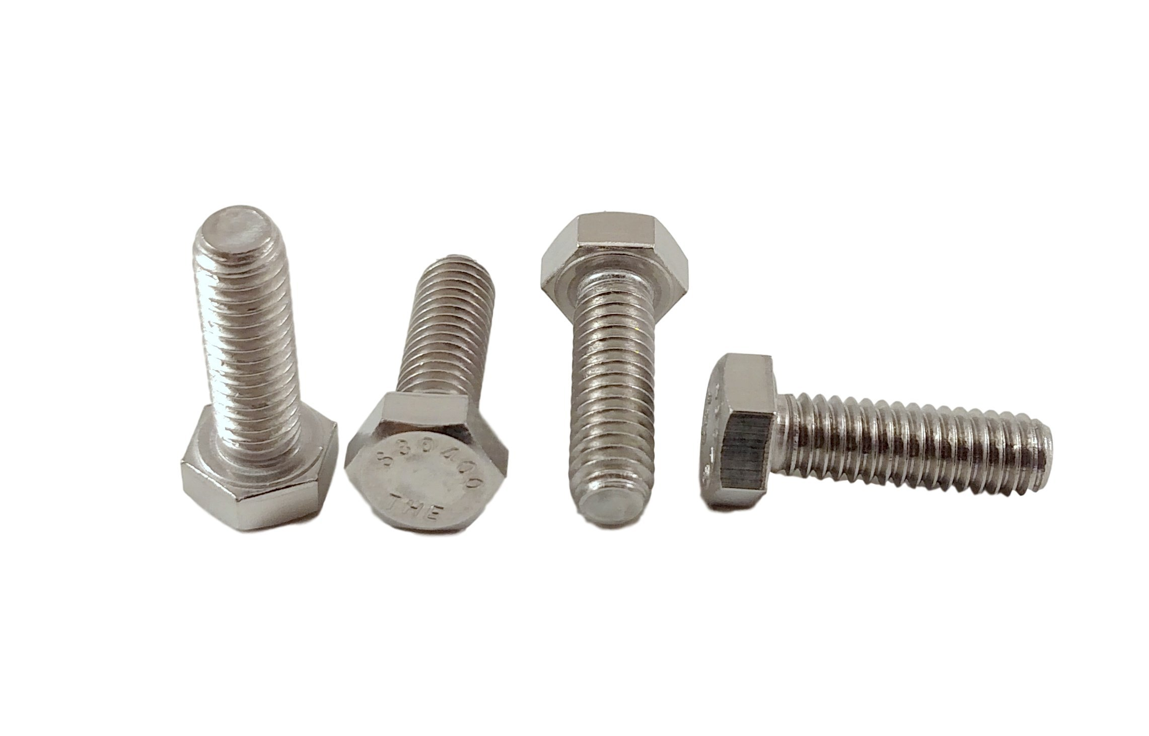Stainless 5/16-18 X 1'' Hex Head Bolts (1/2'' to 4'' Length in Listing), 304 Stainless Steel (5/16-18x1''(50pcs))