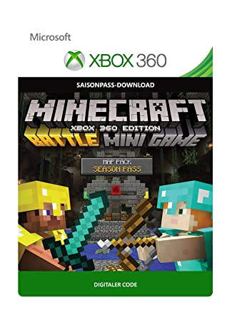 Minecraft: Xbox 360 Edition: Battle Map Pack Season Pass [Xbox 360 ...