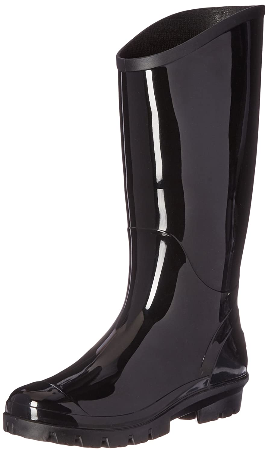 Columbia Women's Rainey Tall Rain Boot B01BOOC4PY 7.5 B(M) US|Black/City Grey