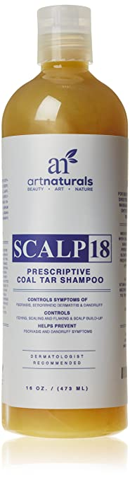 Art Naturals Scalp18 Coal Tar Therapeutic Anti-Dandruff Shampoo