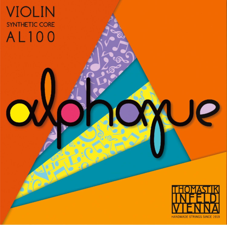 Alphayue アルファユー バイオリン弦 E線 A線 D線 G線4種セット 1/8 AL100 B01GHAWNB0  1./8