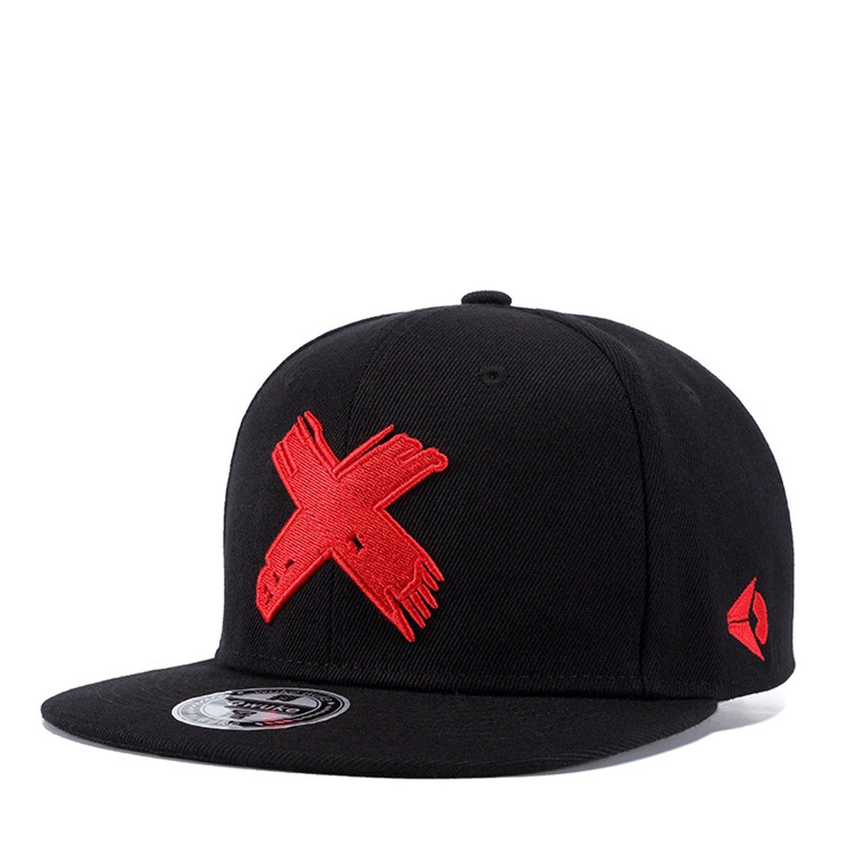 Baseball Cap Funny Red White Big Fork Cap Men Hip Hop Caps Embroidered Logo Summer Autumn Sun Hat Trucker Hats
