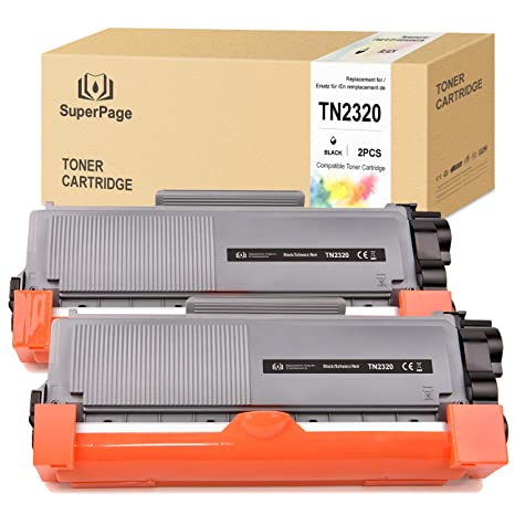Superpage TN2320 TN2310 Cartucho de Tóner Compatible para Brother ...