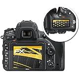 Nikon D750 Film Protection d'écran - Set de 3 atFoliX FX-Antireflex anti-reflet Film Protecteur Protecteur d'écran