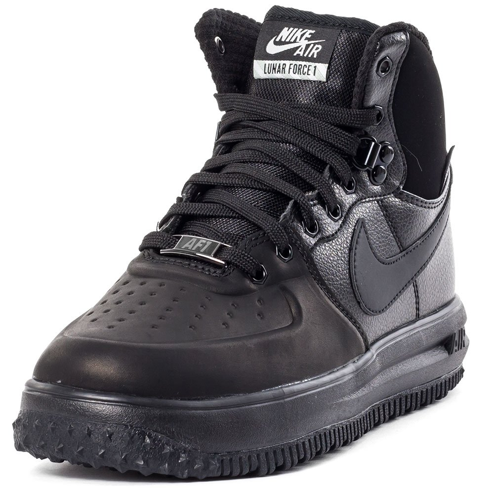 Nike Air Lunar Force 1 Sneakerboot GS Watershield Winter Sneaker black, EU Shoe Size:EUR 35.5