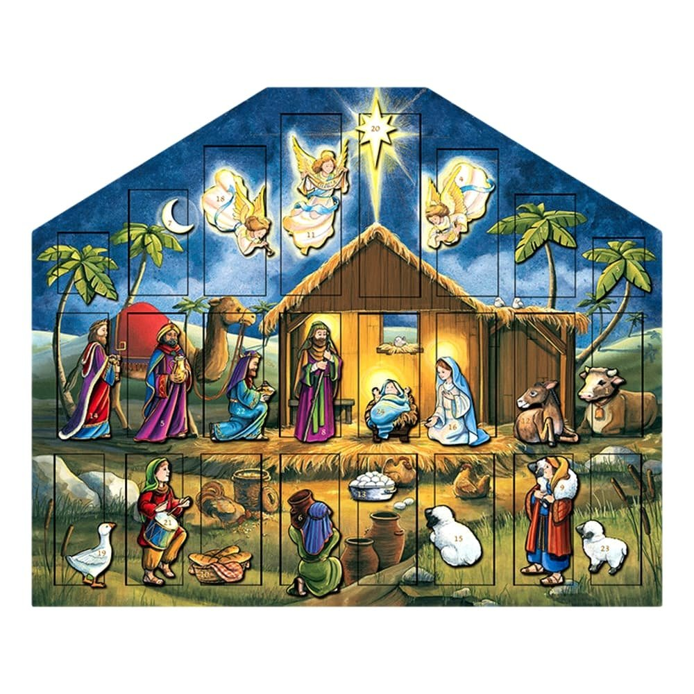 Byers' Choice Nativity Musical Advent Calendar #MC05