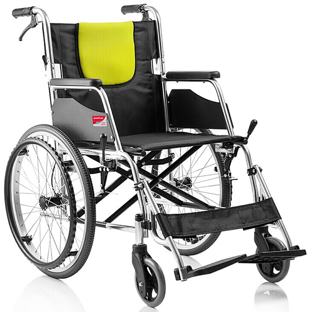 流行に  車椅子強化アルミニウム合金インフレータブル折りたたみ式ソフトシートポータブル高齢者障害者スクーター手動車いす最大ベアリング100kgサイズ:96 B07L4JVN63* 66 88cm** 88cm B07L4JVN63, 清里町:e7ff283a --- a0267596.xsph.ru
