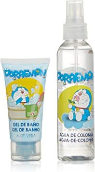 Doraemon TDP00 - Pack agua de colonia 150 ml + gel baño 50 ml: Amazon.es: Belleza