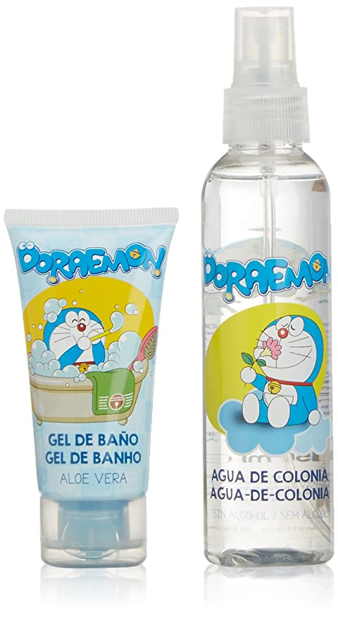 Doraemon TDP00 - Pack agua de colonia 150 ml + gel baño 50 ml