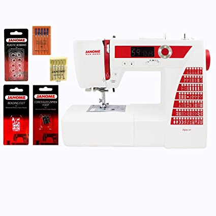 Amazon Janome DC40 Computerized Sewing Machine With Accessories Inspiration Myers Sewing Machine