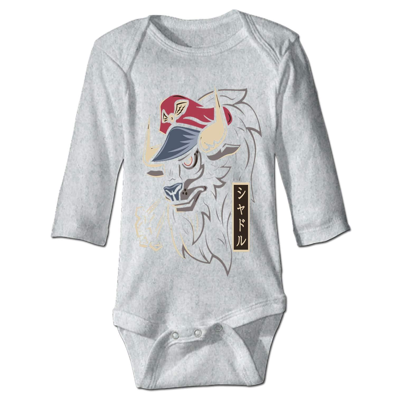 Newborn Baby Onesie Master Bison Print Romper Bodysuit
