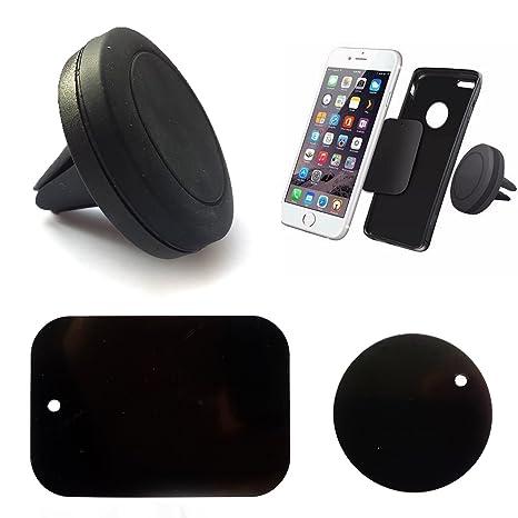 Soporte magnético ventilación coche Smartphone Navi GPS Tablet iPhone 6/iphone 7/Samsung Galaxy