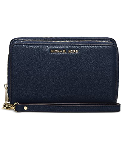 a16884d1d171 Image Unavailable. Image not available for. Color: Michael Kors Adele  Double-Zip Wallet ...