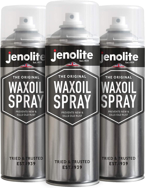 Jenolite 3 X Unterbodenschutz Wachs Waxoyl Waxoil Korrosions Schutz Transparent Rostschutz 500 Ml Auto