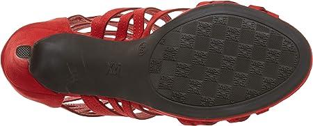 XTI 35186.0, Zapatos de tacón con Punta Abierta para Mujer