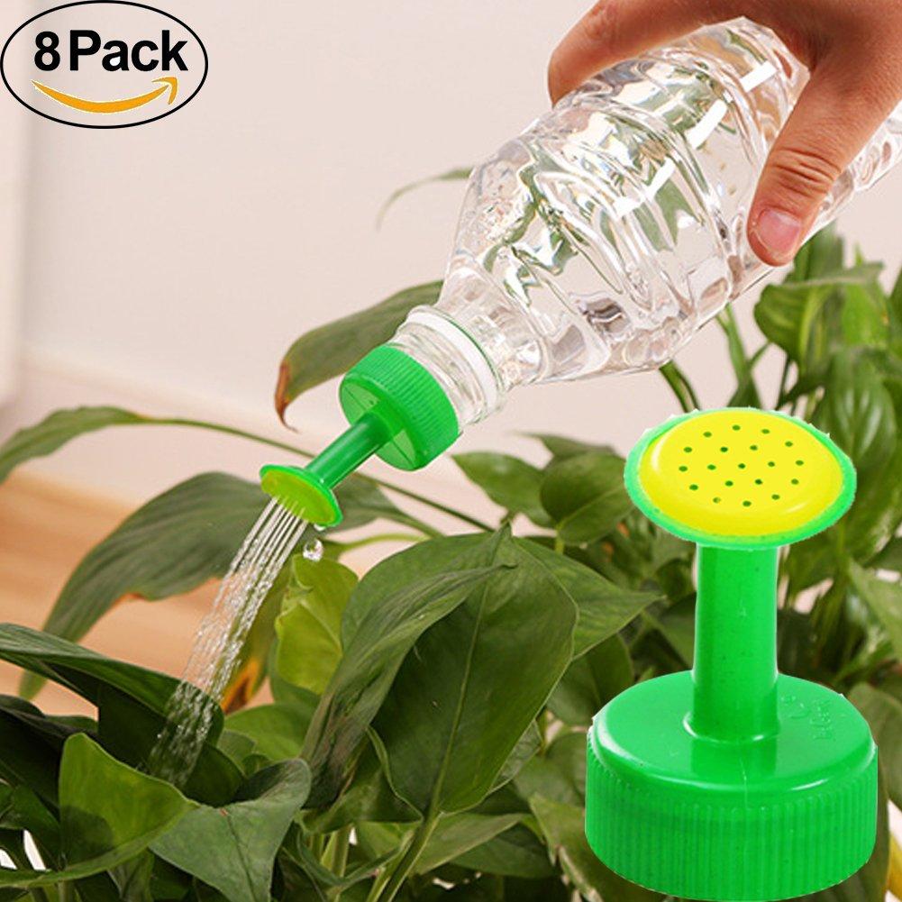 Verschlusskappensprinkler, Bewässerung für Pflanzen, Sprühaufsatz, von FAVOLOOK. PVC-Kunststoff. GB 28mm, Düsen-Sprinklerkopf für Garten, Gemüse. Automatische Bewässerung, zufällige Farbe Sprühaufsatz zufällige Farbe