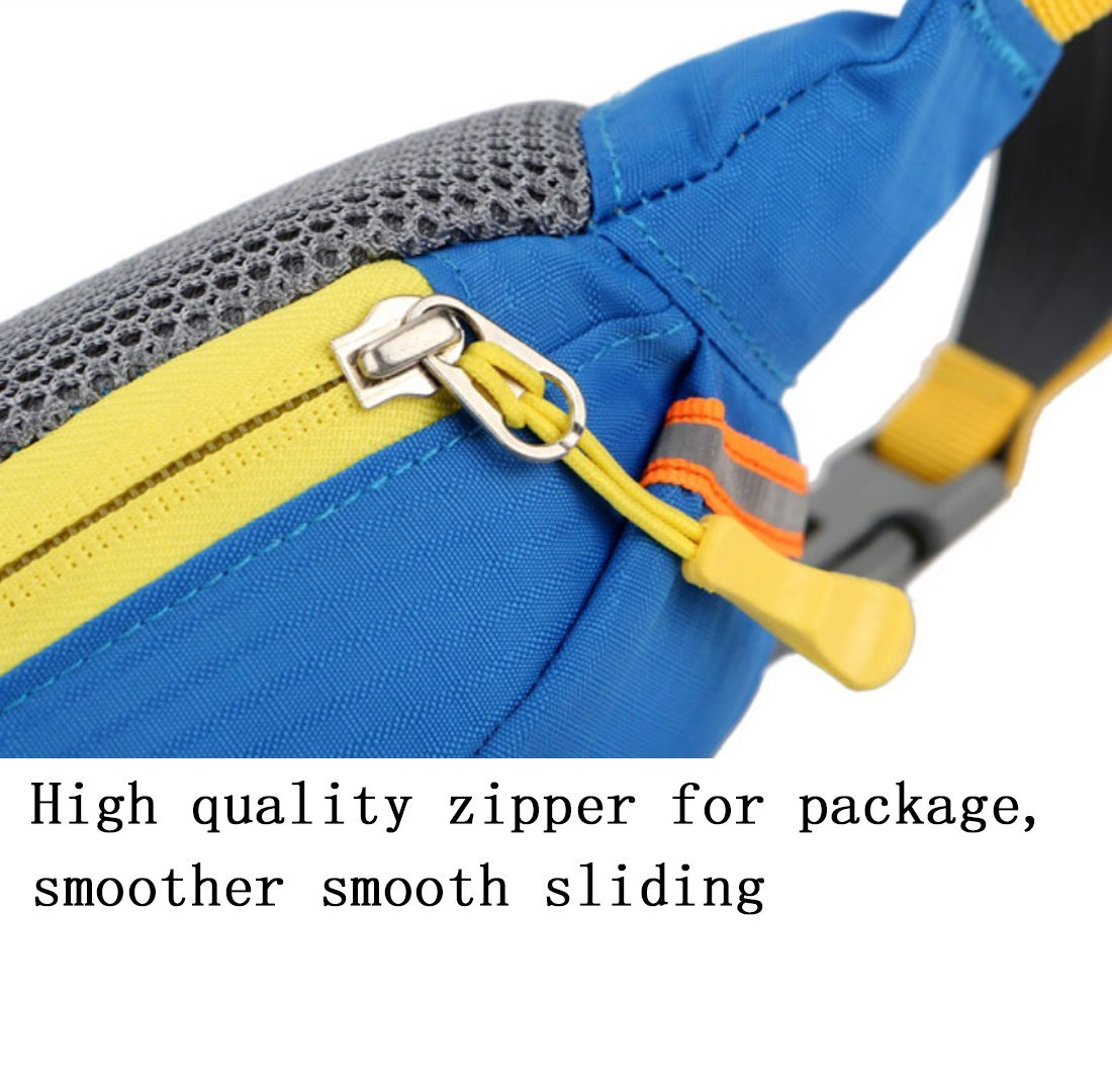 NDY Outdoor Multi-Function Nylon Pockets For Men And Women Fashion Waterproof Wear-Resistant Breathable Reduce Shock-Resistant Sports Bag