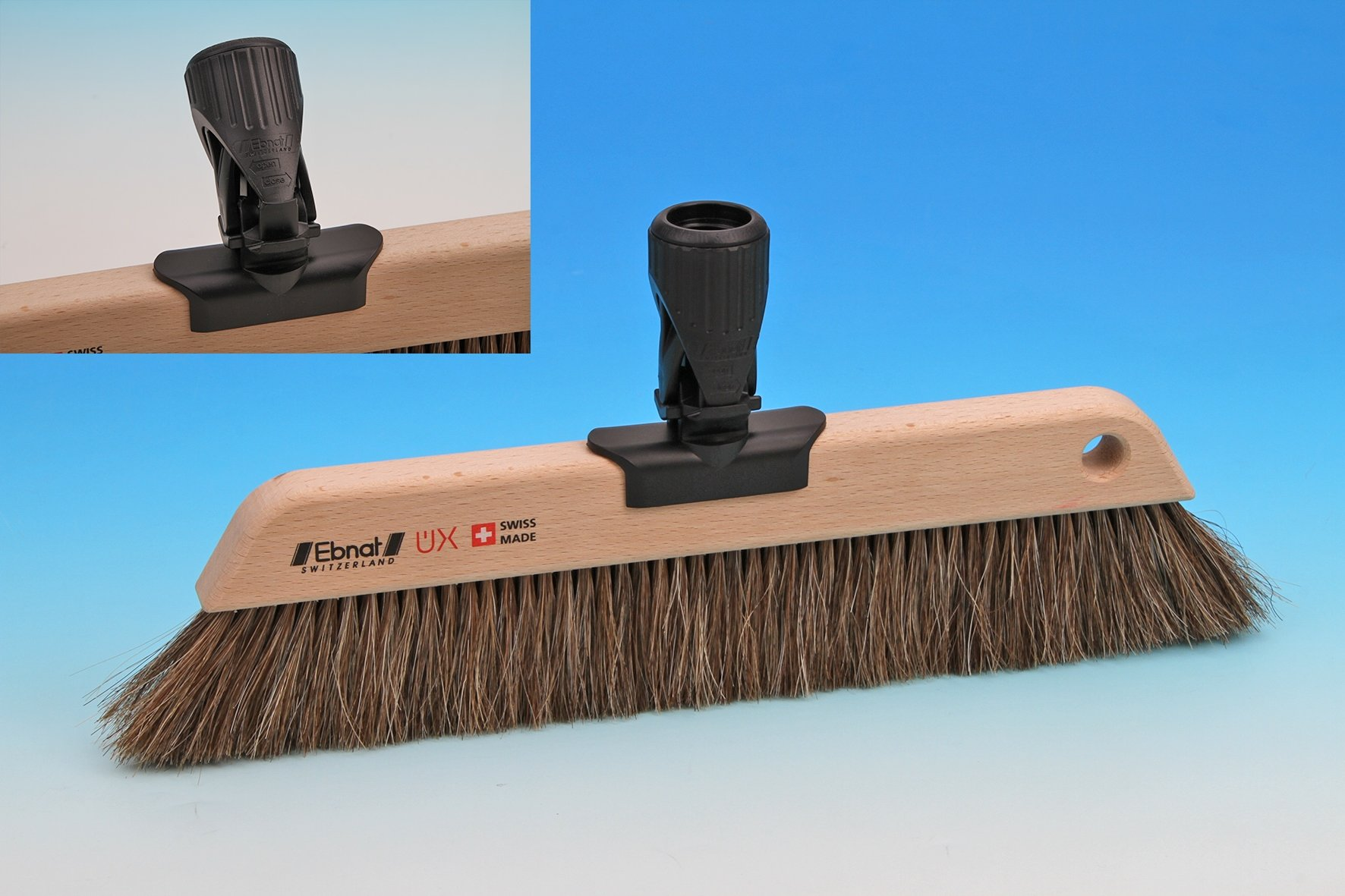 Nessentials Swiss UX Horse Hair Broom 32 cm with Handle by Nessentials (Image #1)