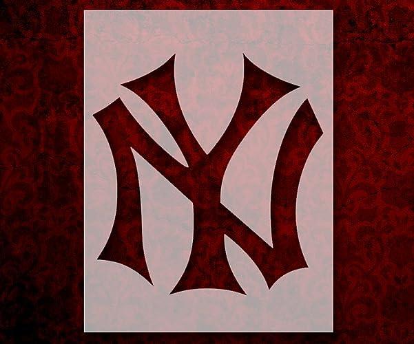 Amazon New York Yankees Ny 85 X 11 Custom Stencil Fast Free