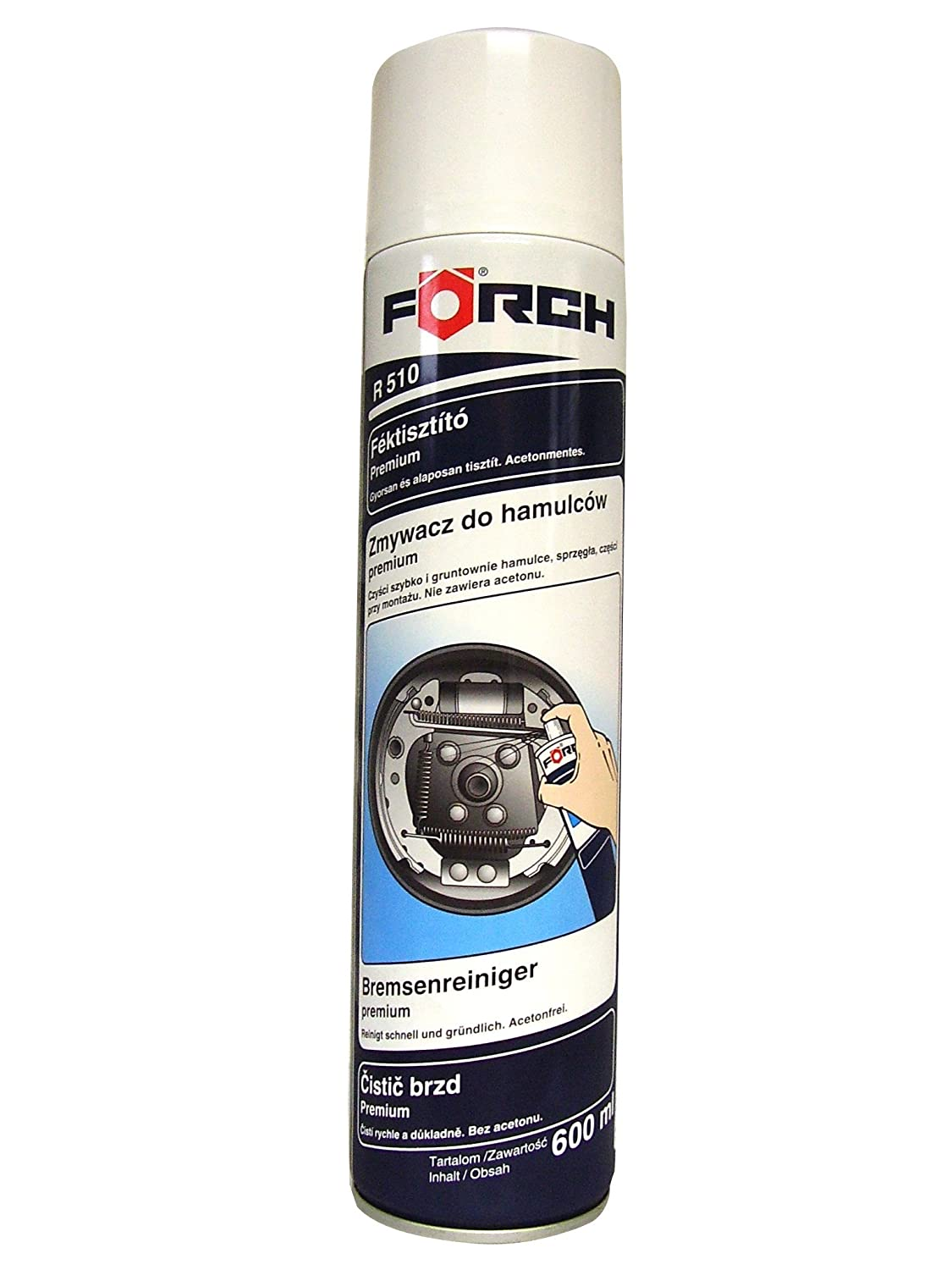 Pulitore freni FORCH R510 600ml (6)
