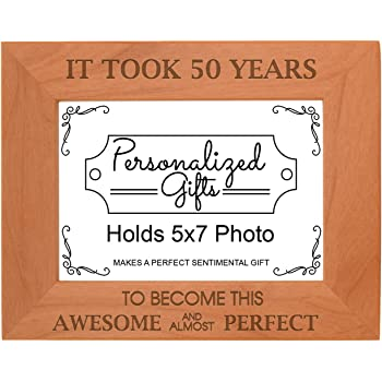 Amazon.com - 50th Birthday Gift It Took 50 Years Awesome Natural ...
