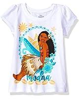 Disney Girls' Moana Short-Sleeved T-Shirt