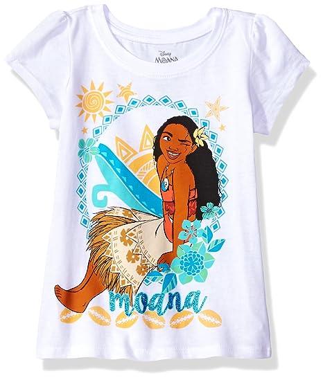2395f0d68 Amazon.com: Disney Girls' Moana Short-Sleeved T-Shirt: Clothing