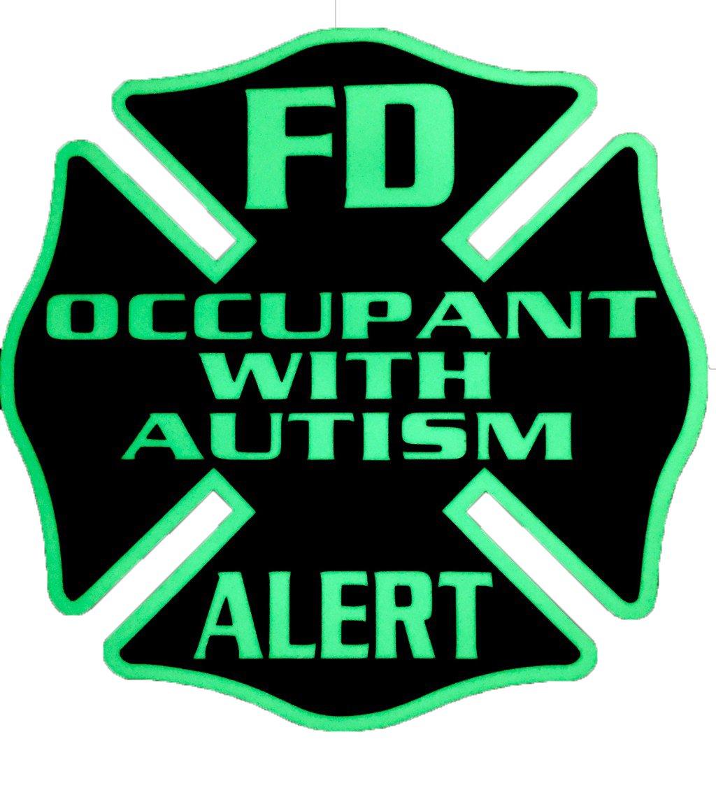 identifire ® occupant with Autism安全デカールfor車/トラック/ホーム B01K09V4TG