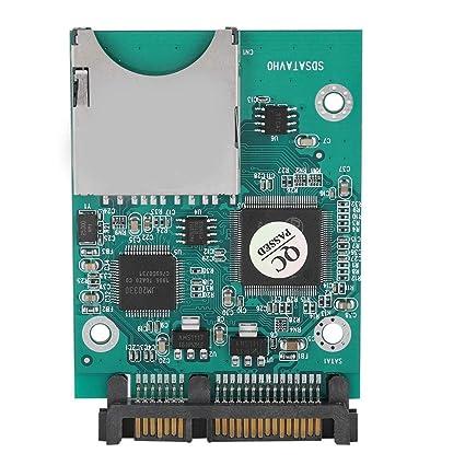 SD SDHC Secure Digital MMC to SATA Converter Adapter Winodws Mac OS Linux