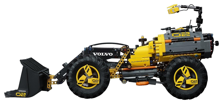 LEGO Technic 42081 - Prototipo Volvo de cargadora con Ruedas ZEUX (1167 Piezas): Amazon.es: Juguetes y juegos